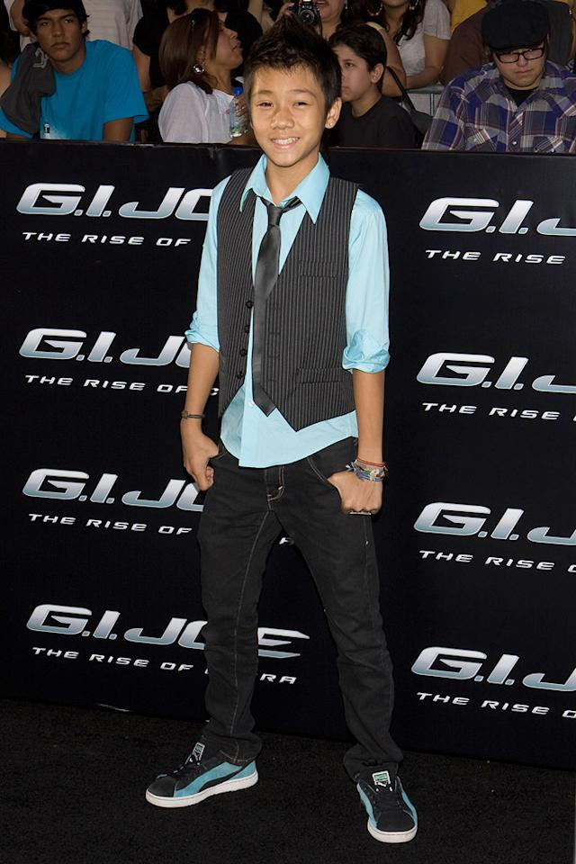 "Brandon Soo Hoo at the Los Angeles premiere of <a href=""http://movies.yahoo.com/movie/1809993532/info"">G.I. Joe: The Rise of Cobra</a> - 08/06/2009"