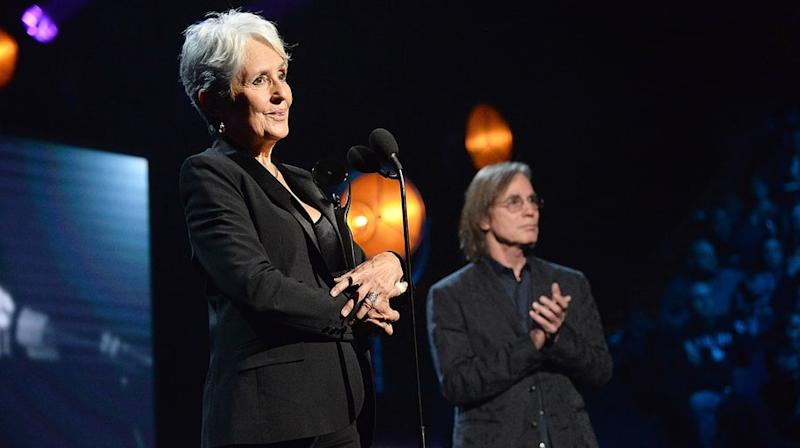 Watch Joan Baez Plead for Social Justice in Moving Rock Hall of Fame Speech
