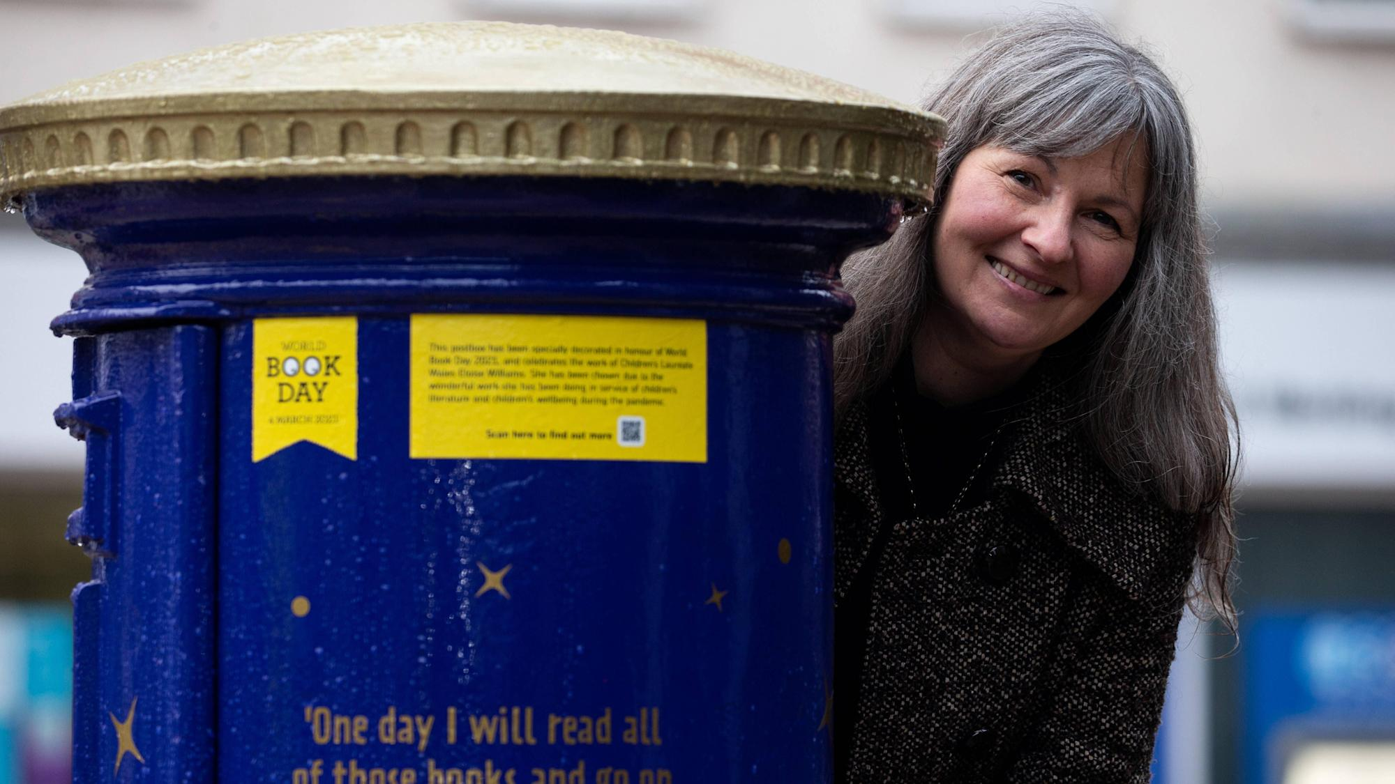 Special post boxes mark World Book Day