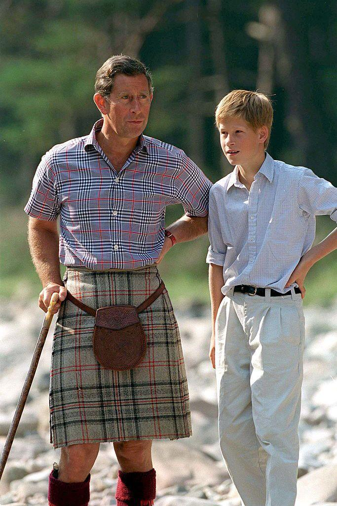 <p>However, Prince Harry doesn't seem to be as big of a fan of plaid as the rest of his relatives.</p>