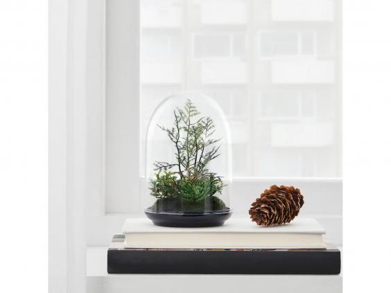 Stock up on faux plants for all of the joy of greenery without any of the hard work (Ikea)