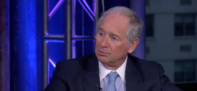 Billionaire private equity CEO Steve Schwarzman, the founder of Blackstone, speaks with Yahoo Finance's Julia La Roche.