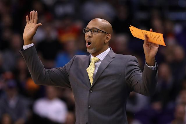 Monty Williams has the Phoenix Suns knocking on the door of the top 10 on both offense and defense. (Getty Images)