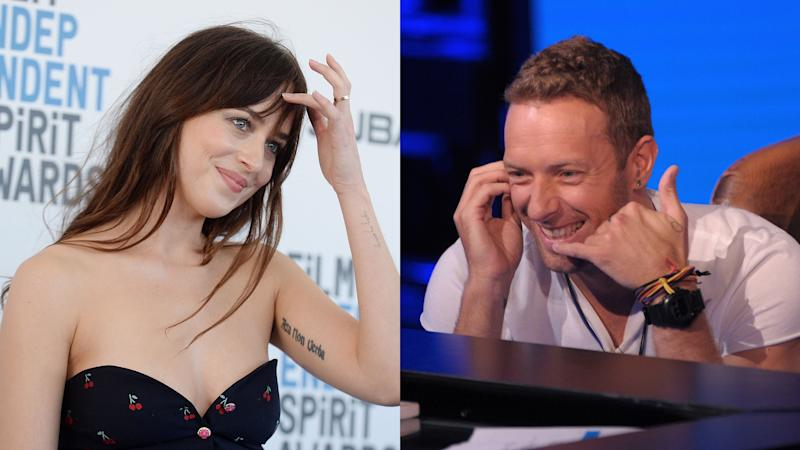 Chris Martin Snaps Photos of Dakota Johnson in NYC ...