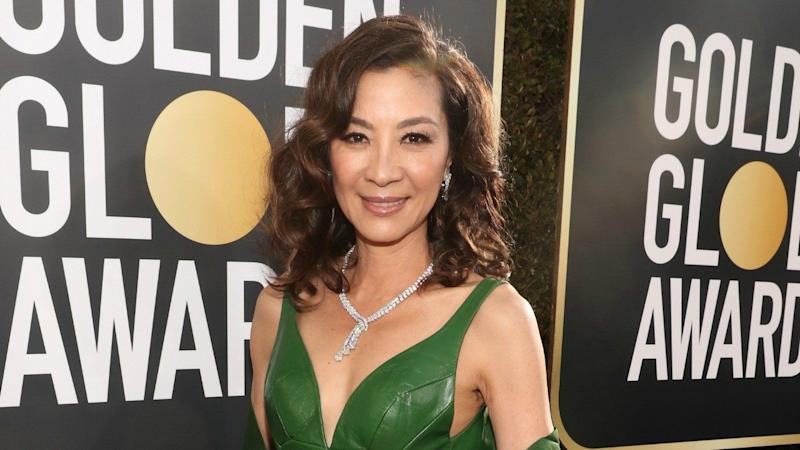 Michelle Yeoh Rocks Iconic Crazy Rich Asians Ring At Golden Globes