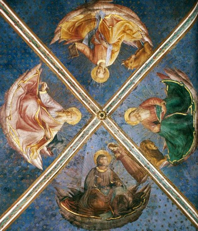 Paintings of Fra Angelico inside the Niccoline Chapel, Vatican