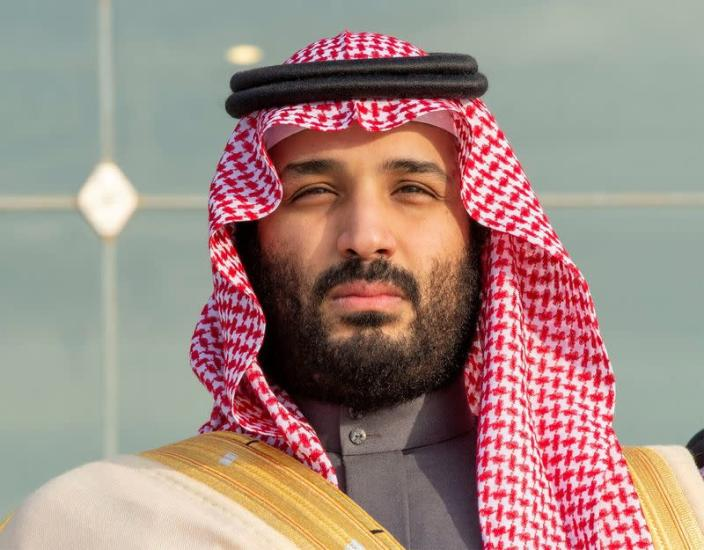 FILE PHOTO: Saudi Arabia's Crown Prince Mohammed bin Salman attends a graduation ceremony for the 95th batch of cadets from the King Faisal Air Academy in Riyadh
