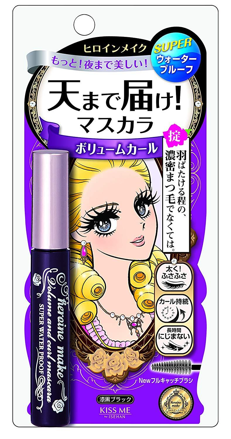 """<h3>Heroine Make Volume & Curl Super Waterproof Mascara</h3><br><strong>Sarah</strong><br><br>""""Japanese makeup and skincare top 10 lists on a whole bunch of different makeup blogs I follow all gave this particular brand glowing reviews, so I had to check it out. I have a fraught history with mascara, especially waterproof formulas. Drugstore mascara wands get gunky really fast and don't give me an even application. Higher-end brands aren't much better, plus they're exorbitantly expensive. Mascara removal sucks too. Those Almay pads people swear by? That Lancome formula? They're both oily as hell and I end up having to rub pretty hard to get my eye makeup off. BUT! This Heroine Make stuff? It comes off with a swipe of Pond's and lasts all day. The price is right, too. Bless up.""""<br><br><strong>Heroine Make</strong> Volume & Curl Super Waterproof Mascara, $, available at <a href=""""https://www.amazon.com/gp/product/B00INJ7ULW/ref=ppx_yo_dt_b_asin_title_o01_s00"""" rel=""""nofollow noopener"""" target=""""_blank"""" data-ylk=""""slk:Amazon"""" class=""""link rapid-noclick-resp"""">Amazon</a>"""