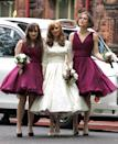 """<p>Keira Knightley was a bridesmaid in her <a href=""""https://www.elle.com/culture/celebrities/g8609/celebrity-bridesmaids/?slide=24"""" rel=""""nofollow noopener"""" target=""""_blank"""" data-ylk=""""slk:brother's 2011 wedding"""" class=""""link rapid-noclick-resp"""">brother's 2011 wedding</a>. The blockbuster actress wore a fuschia dress with a fun, voluminous skirt.</p>"""
