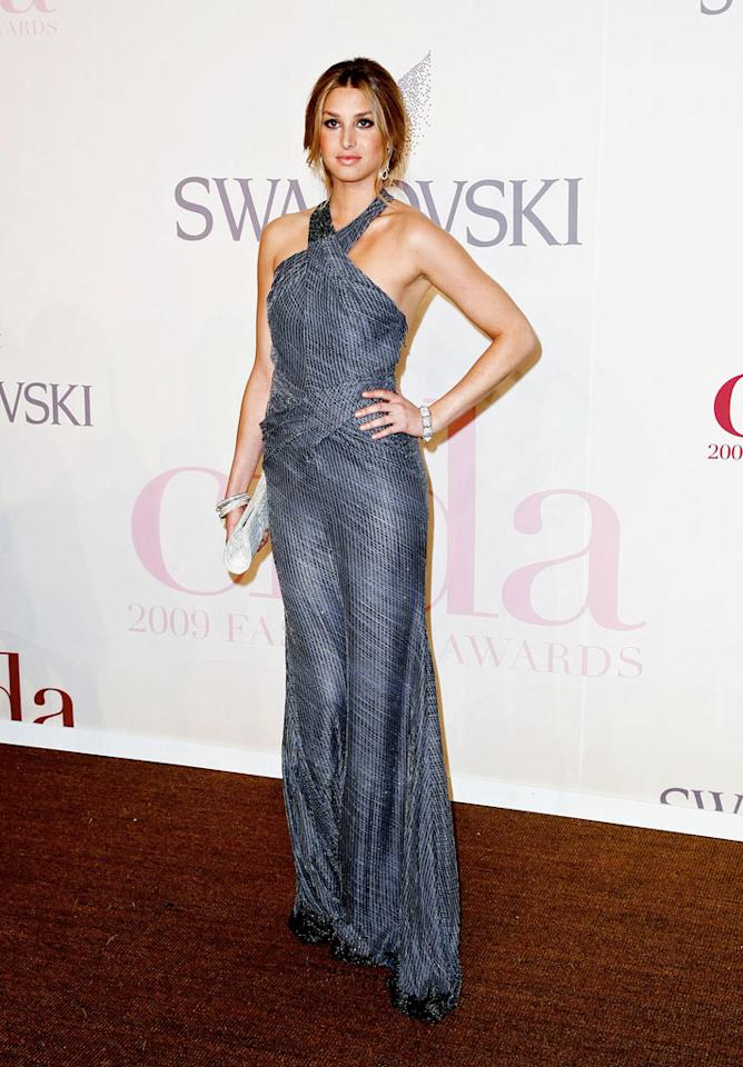 """The City's"" Whitney Port oozed sophistication in a beaded Luca Luca halter gown. Ach/<a href=""http://www.infdaily.com"" target=""new"">INFDaily.com</a> - June 15, 2009"