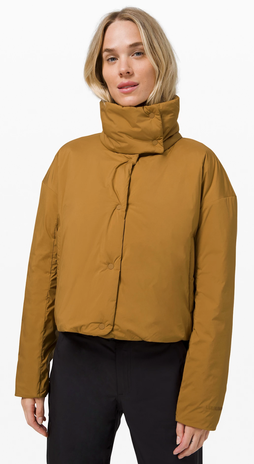 Pure Puff Jacket in Spiced Bronze (Photo via Lululemon Athletica)