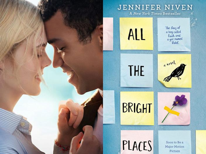 all the bright places netflix