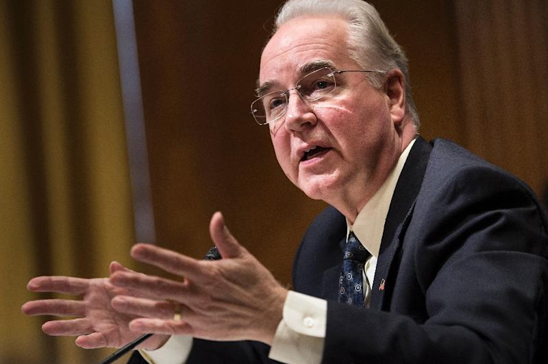 Tom Price confirmed as next Health Secretary after contentious Senate debate