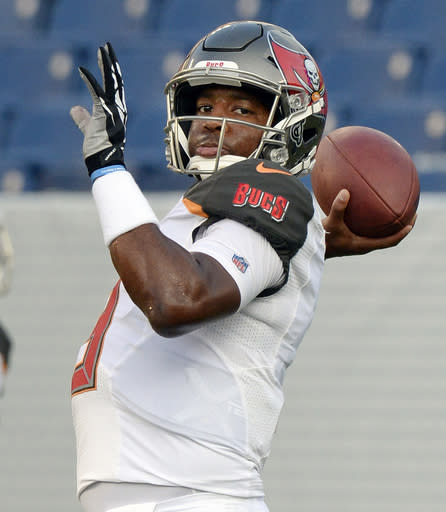 Winston returns to work, Bucs not saying if he's starter