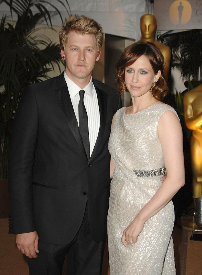 "<a href=""http://movies.yahoo.com/movie/contributor/1800354486"">Vera Farmiga</a> and <a href=""http://movies.yahoo.com/movie/contributor/1808798232"">Renn Hawkey</a> at the Academy of Motion Picture Arts and Sciences' Inaugural Governors Awards - 11/14/2009"