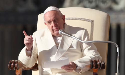Climate crisis is 'challenge of civilisation', says pope
