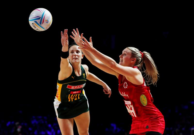 England captain Nat Haythornthwaite won her 50th cap as the Vitality Roses beat South Africa to bronze REUTERS/Lee Smith
