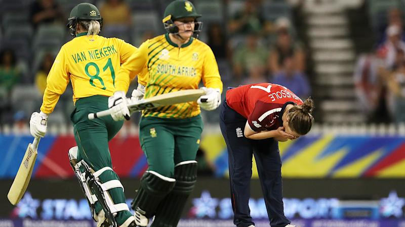 South Africa, pictured here in action against England at the T20 World Cup.