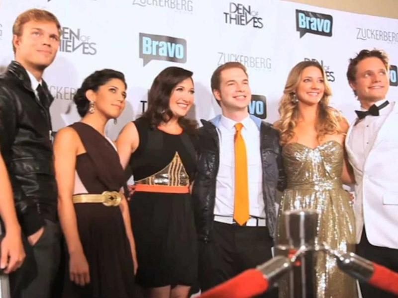 Startups Silicon Valley cast on red carpet