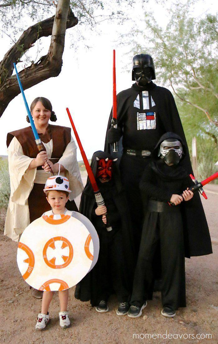 """<p>They say the family that cosplays together stays together, and there are enough costumes in this tutorial for every member of the clan.</p><p><strong>Get the tutorial at <a href=""""https://www.momendeavors.com/diy-star-wars-family-costumes/"""" rel=""""nofollow noopener"""" target=""""_blank"""" data-ylk=""""slk:Mom Endeavors"""" class=""""link rapid-noclick-resp"""">Mom Endeavors</a>.</strong></p><p><a class=""""link rapid-noclick-resp"""" href=""""https://www.amazon.com/gp/product/B000XZ6XZS/ref=as_li_qf_sp_asin_il_tl?tag=syn-yahoo-20&ascsubtag=%5Bartid%7C10050.g.21287723%5Bsrc%7Cyahoo-us"""" rel=""""nofollow noopener"""" target=""""_blank"""" data-ylk=""""slk:SHOP BLACK CAPES"""">SHOP BLACK CAPES</a><br></p>"""