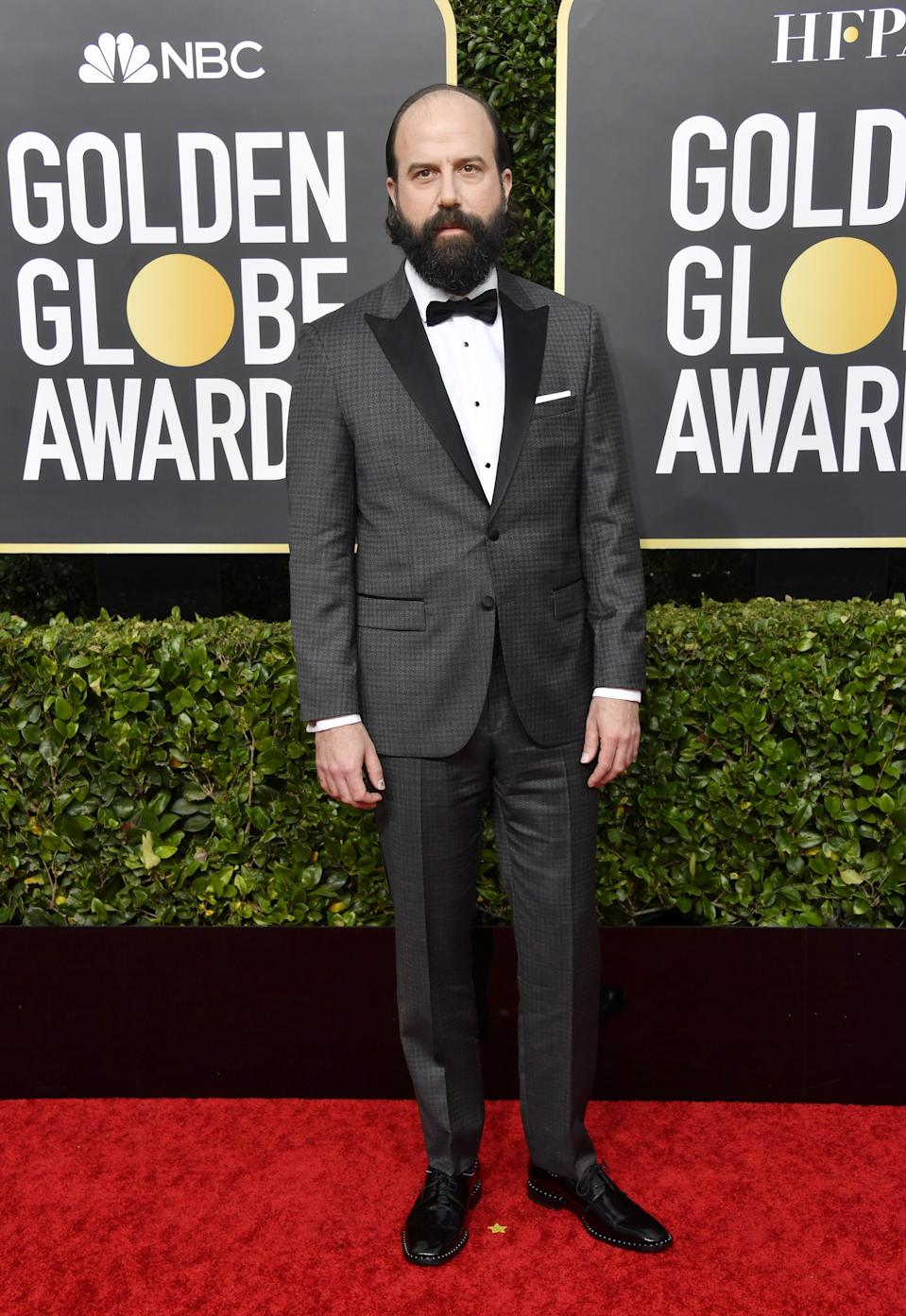 "<h1 class=""title"">Brett Gelman in Montblanc jewelry</h1><cite class=""credit"">Photo: Getty Images</cite>"