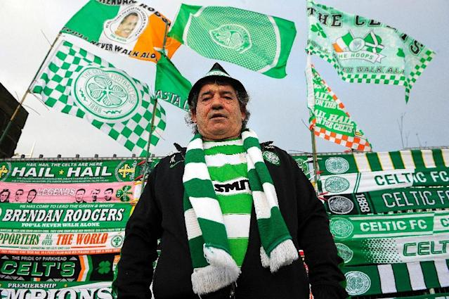Celtic have won seven Scottish Premiership titles in a row (AFP Photo/ANDY BUCHANAN)