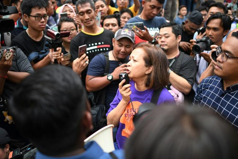 Malaysian police quiz mahathir 39 s daughter over protest for Mohd shop