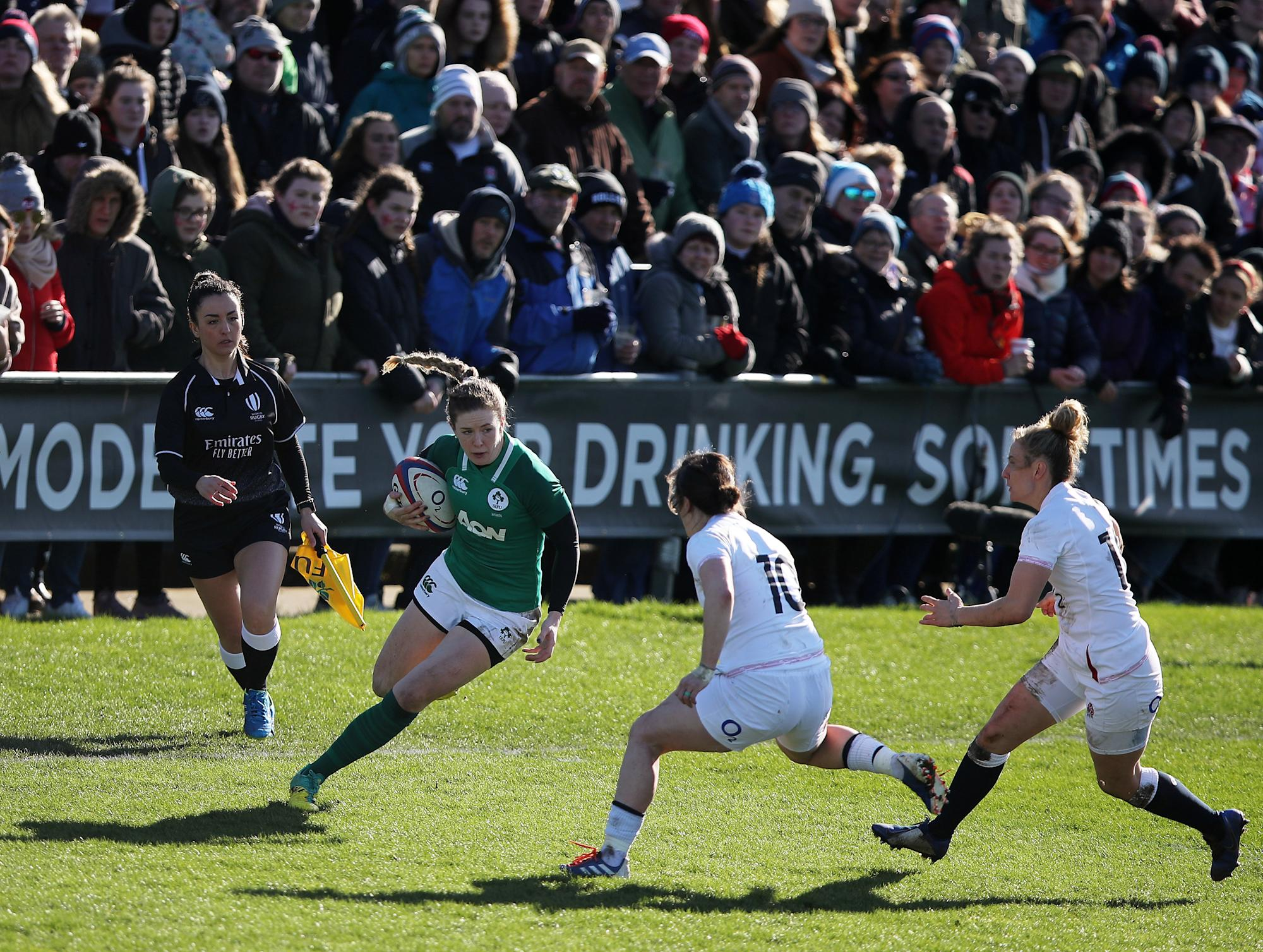 Ireland's Lauren Delany takes the scenic route to Six Nations