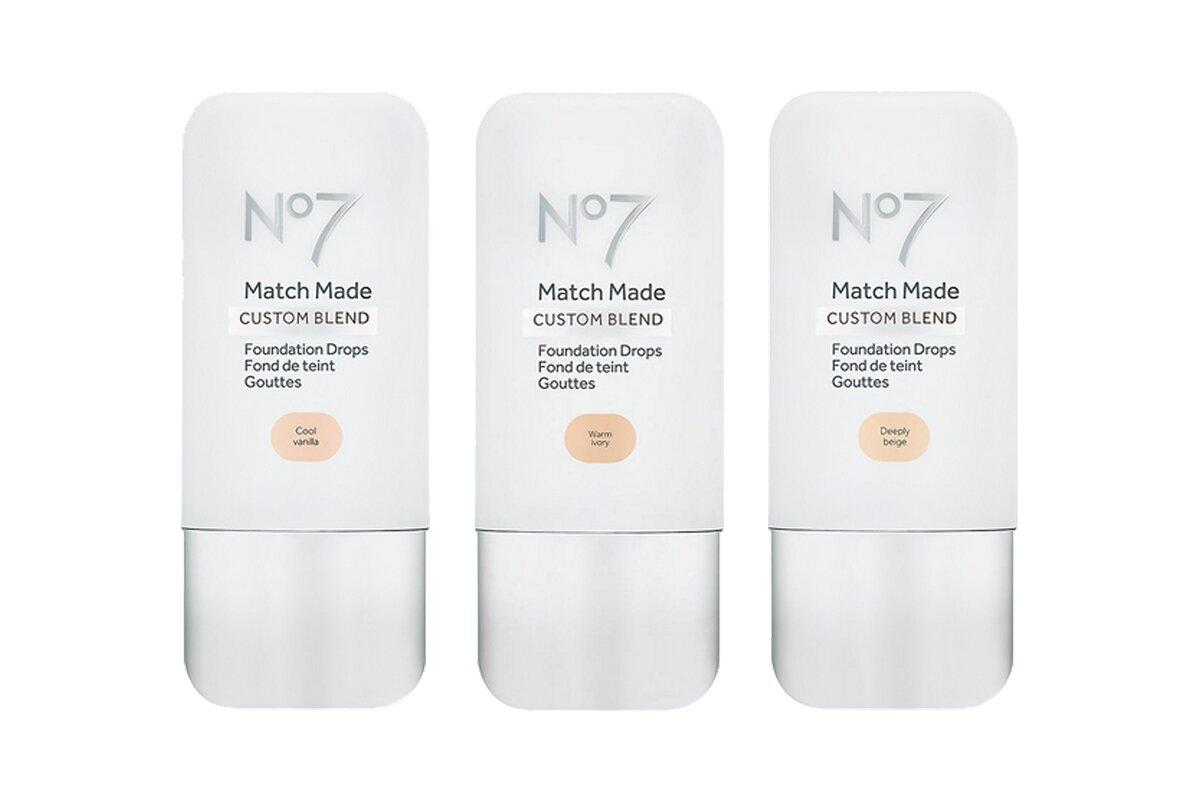 "<a href=""http://www.people.com/tag/kim-kardashian"">Kim Kardashian West</a>'s makeup artist for over 10 years, Mario Dedivanovic, approves of No7's foundation range, which makes finding her perfect shade easier than ever. ""It comes in 24 shades that blend seamlessly into foundation for customizable coverage and color,"" the pro tells PEOPLE. ""I like [mixing] these with an ultra-hydrating moisturizer,"" says Dedivanovic, who simply adds more drops if he needs to up the coverage.   <strong>Buy It! </strong><a href=""http://www.anrdoezrs.net/links/8029122/type/dlg/sid/PEO,TheBestNewBeautyProductsof2019,kaitlynfrey,Unc,Gal,6809201,201910,I/https://www.walgreens.com/store/c/no7-match-made-foundation-drops/ID=prod6392365-product"" target=""_blank"" rel=""nofollow"">No7 Match Made Foundation Drops, $14.99; walgreens.com</a>"