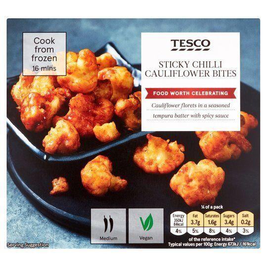 Sticky Chilli Cauliflower Bites, Tesco (Photo: HuffPost UK)