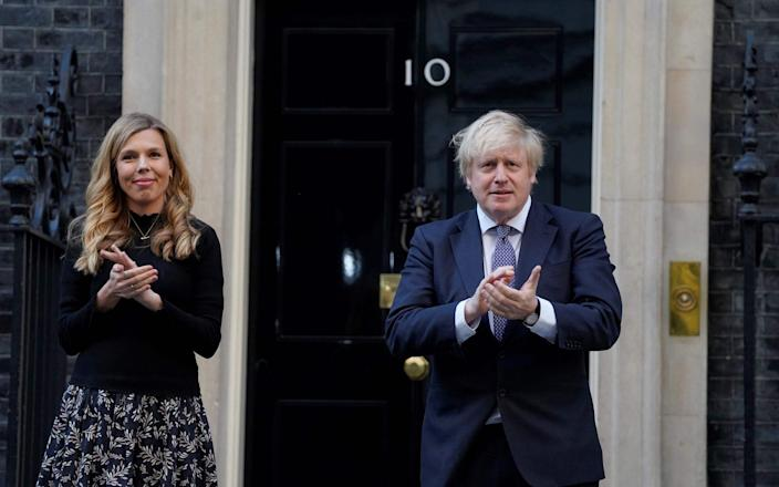 carrie symonds redecoration - Andrew Parsons/AFP
