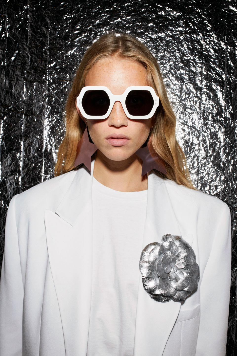 """<p><strong>Who: </strong>Isabel Marant</p><p><strong>What: </strong>Spring Summer 2021 Eyewear</p><p><strong>Where:</strong> Online at Isabelmarant.com</p><p><strong>Why: </strong>Isabel Marant is synonymous with effortless Parisian chic, and the brand's Spring-Summer 2021 eyewear offering delivers on that premise. The launch includes geometric and oversized shapes, which mix seamlessly with the ease of the Isabel Marant wardrobe. The Spring campaign was shot by Juergen Teller and features Isabel regular Rebecca Leigh Longendyke.</p><p><a class=""""link rapid-noclick-resp"""" href=""""https://www.isabelmarant.com/us/isabel-marant/women/sunglasses"""" rel=""""nofollow noopener"""" target=""""_blank"""" data-ylk=""""slk:SHOP NOW"""">SHOP NOW</a><strong><br></strong></p>"""
