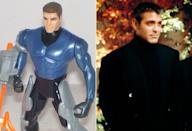 <p>The same goes for George Clooney's Bruce Wayne action figure for 'Batman & Robin.' (Photo: DC/Everett)</p>