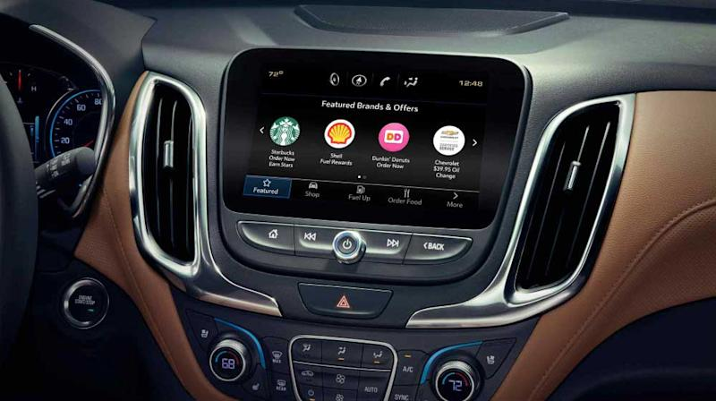 GM Marketplace Lets Drivers Order a Latte From the Dashboard