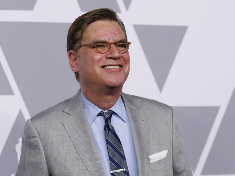 90th Oscars Nominees Luncheon– Arrivals – Los Angeles, California, U.S., 05/02/2018 – Director Aaron Sorkin. REUTERS/Mario Anzuoni