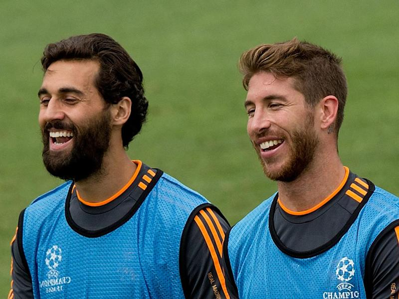 Ramos defended his team-mate Arbeloa (Getty)