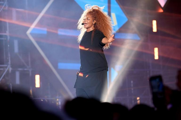 US singer Janet Jackson performed at the Jeddah World Fest in Saudi Arabia, a concert unimaginable just two years ago (AFP Photo/AMER HILABI)