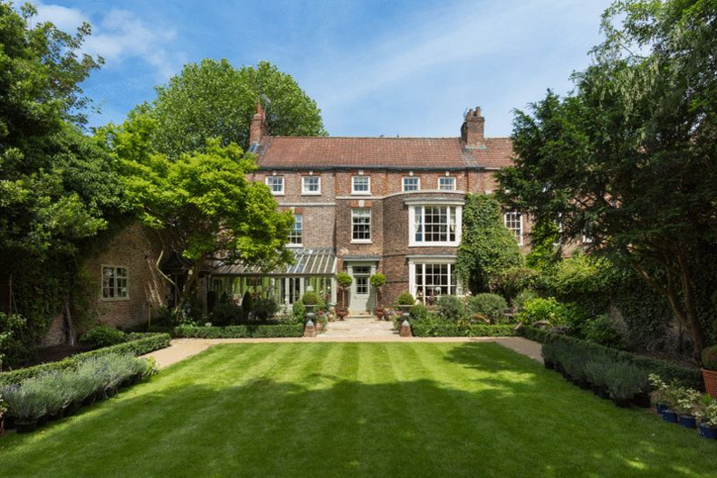 Almery Garth on Margate Lane in York was sold for £2.75m, while a nearby house cost just £100,000. Photo: Blenkin & Co
