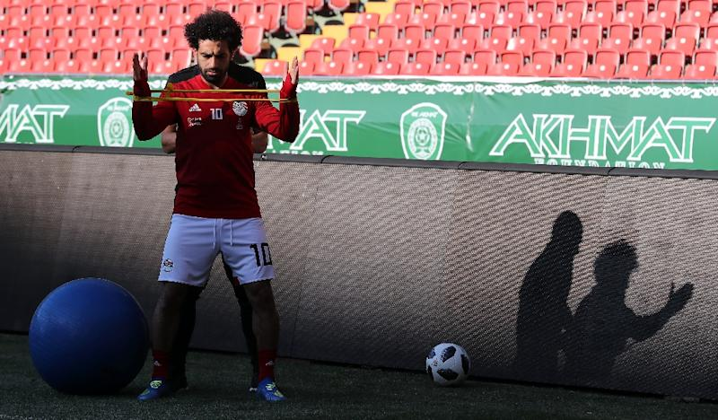 Egypt star Salah still a doubt for World Cup opener against Uruguay