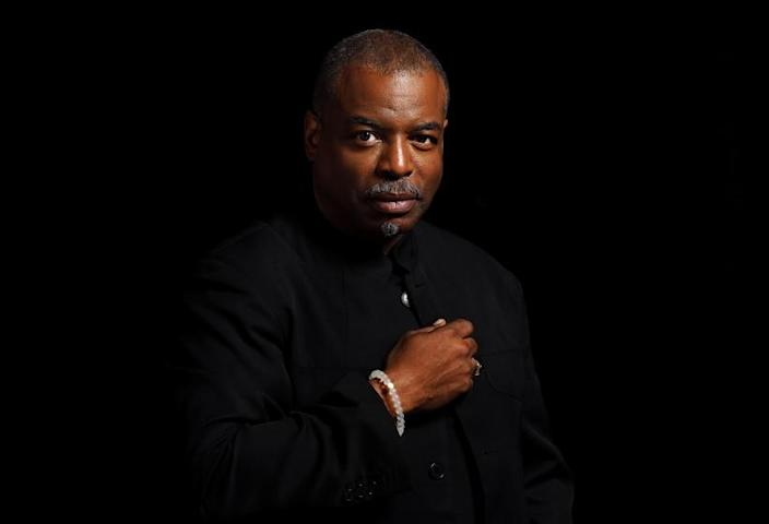 """LOS ANGELES, CA-MAY 9, 2016: LeVar Burton is photographed in Los Angeles on May 9, 2016. The History Channel is premiering the four-hour miniseries, """"Roots,"""" a new version of the groundbreaking 1970's miniseries about author Alex Haley tracing his ancestry of his relatives back to slavery and Africa. LeVar Burton, who played the captured African slave Kunta Kinte, is a producer of the new project. which premieres Memorial Day. (Mel Melcon/Los Angeles Times)"""
