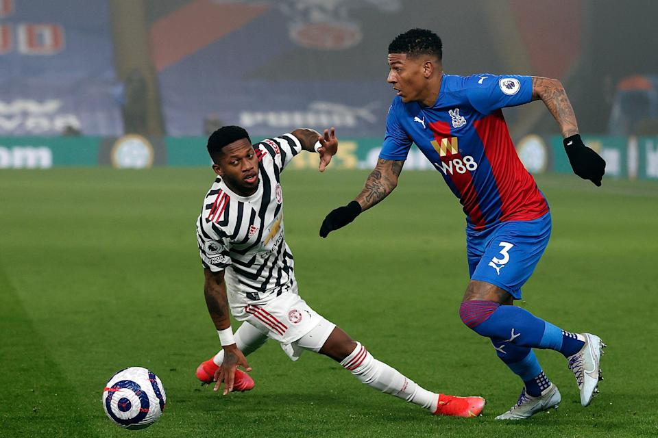 <p>Patrick van Aanholt played for Crystal Palace against Manchester United on Wednesday night</p> (Getty Images)