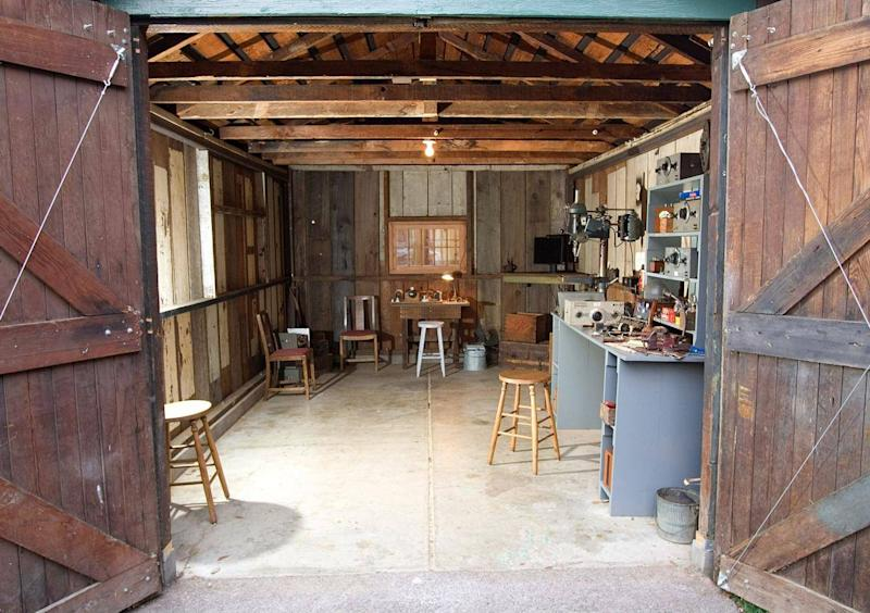 The tiny Palo Alto shed where Hewlett-Packard, and Silicon Valley, started (Getty)