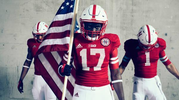(Via Adidas and Nebraska)