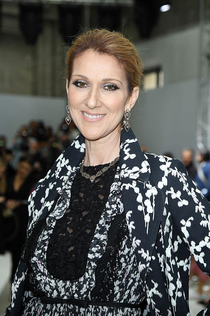 <p>Dion gave birth to her twins aged 42 [Photo: Getty] </p>