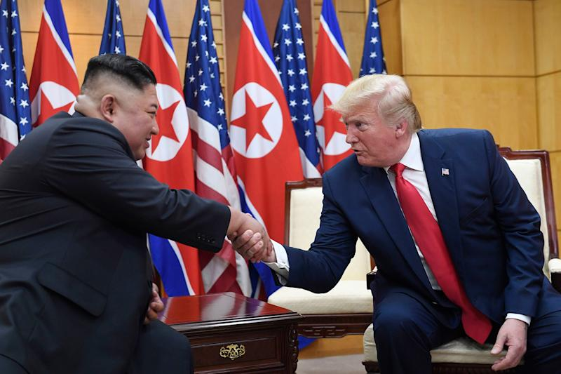DPRK Press Calls Kim-Trump Meeting Historic