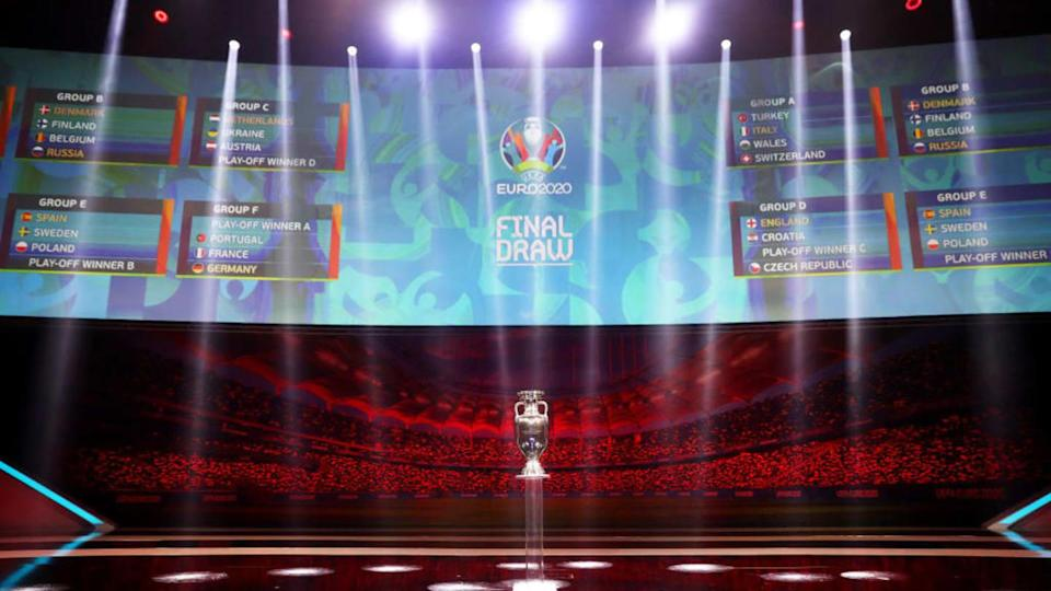 UEFA Euro 2020 Final Draw Ceremony | Dean Mouhtaropoulos/Getty Images