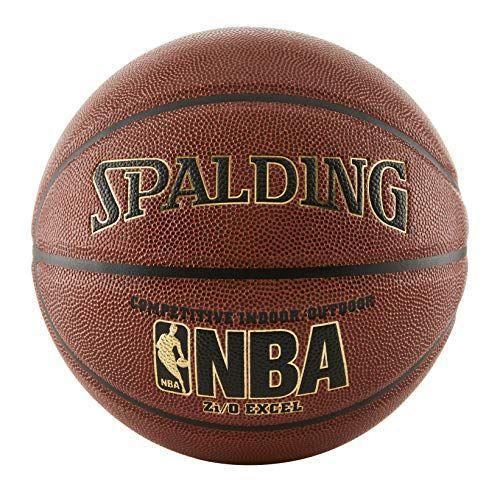 """<p><strong>Spalding</strong></p><p>amazon.com</p><p><strong>$29.99</strong></p><p><a href=""""https://www.amazon.com/dp/B0009VELDW?tag=syn-yahoo-20&ascsubtag=%5Bartid%7C10050.g.23838030%5Bsrc%7Cyahoo-us"""" rel=""""nofollow noopener"""" target=""""_blank"""" data-ylk=""""slk:Shop Now"""" class=""""link rapid-noclick-resp"""">Shop Now</a></p><p>A brand-new ball is the best way to get him out there practicing his free throws.</p>"""