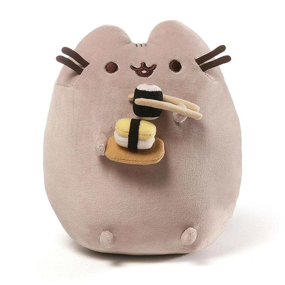 <p>This <span>Gund Pusheen Snackables Sushi Cat Plush Stuffed Animal</span> ($23) is perfect for your friend who loves cats and sushi. </p>