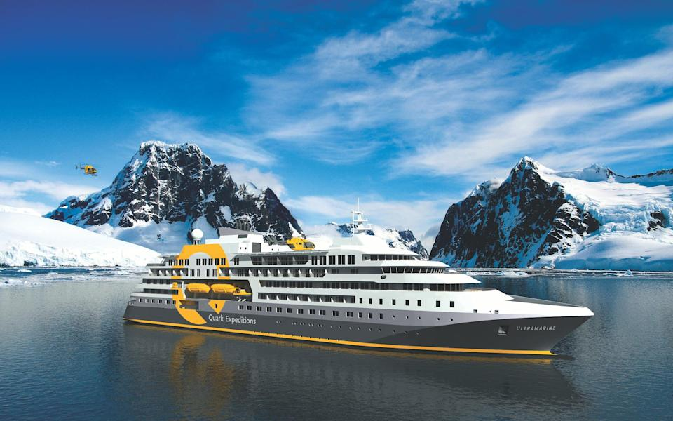 Explore by land, sea and air from Ultramarine - QUARK EXPEDITIONS