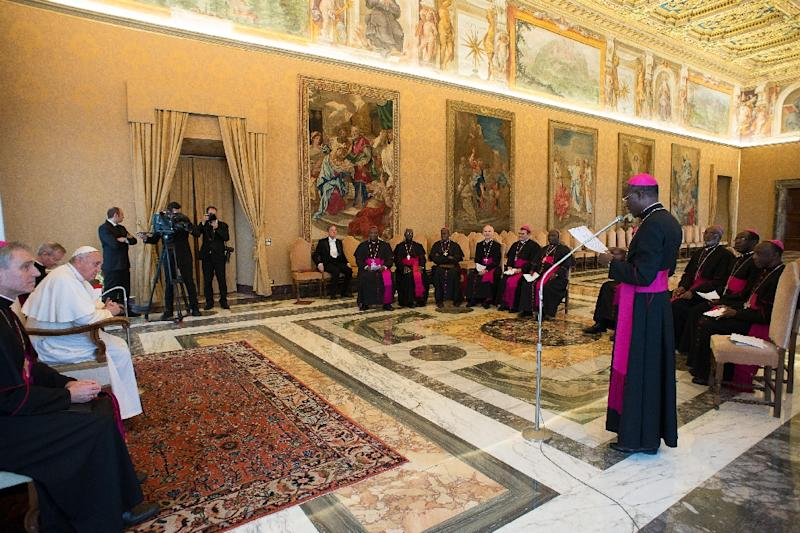 The Symposium of Episcopal Conferences of Africa and Madagascar, pictured in 2015, wrote a letter expressing concern about ending the services of shortwave radio in Africa, saying it affords millions the opportunity to hear (the) Holy Father